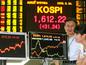 活況呈す韓国証市・KOSPI 1600突破