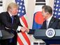 韓米首脳、FTA見直し迅速に推進