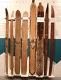 「古代円形」の韓半島スキー板展示