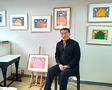 在日コリアン2世・ 光州市立美術館名誉館長、河正雄「世開」展開催
