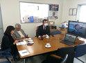 KIC内外同胞情報センターがリモート会議