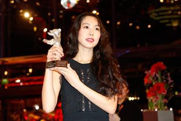 金ミニが韓国女優初の銀熊賞