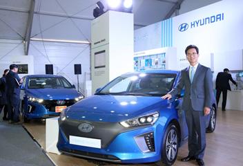 済州で電気自動車エキスポ