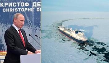 世界初の砕氷LNG船
