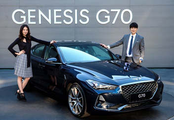AI搭載の「ジェネシスG70」発売