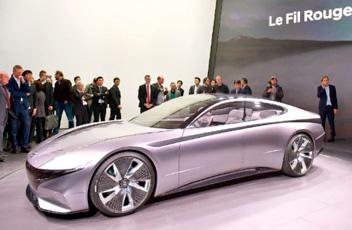 未来のデザイン示すコンセプトカー