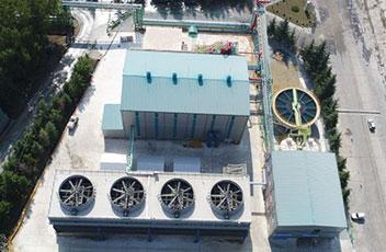 世界最大の排熱発電設備完成