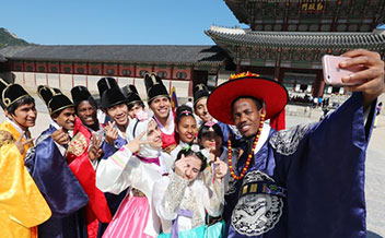 訪韓外国人観光客1534万人に