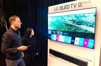 テレビのプレミアム市場で攻勢