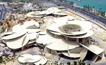 カタール国立博物館竣工