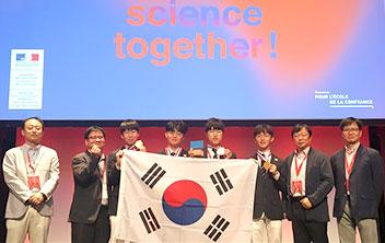 韓国、化学オリンピックで総合一位
