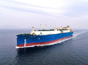 省エネLNG船建造