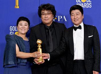 「パラサイト」にゴールデングローブ賞