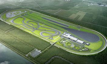 韓国最大のドライビングセンター