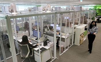 オフィスに「クリーンスペース」