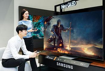 ネオQLEDテレビにゲーム機能強化