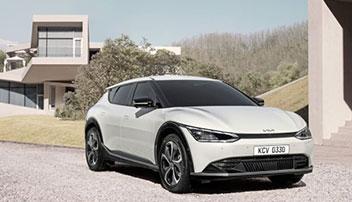 新型電気自動車のデザイン公開